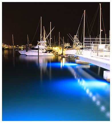 Boats at Night
