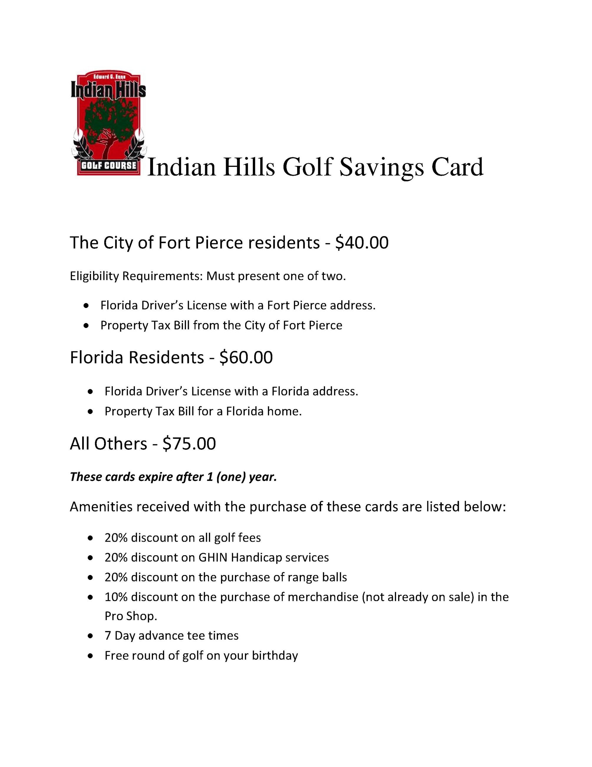 Indian Hills Golf Savings Card (1)