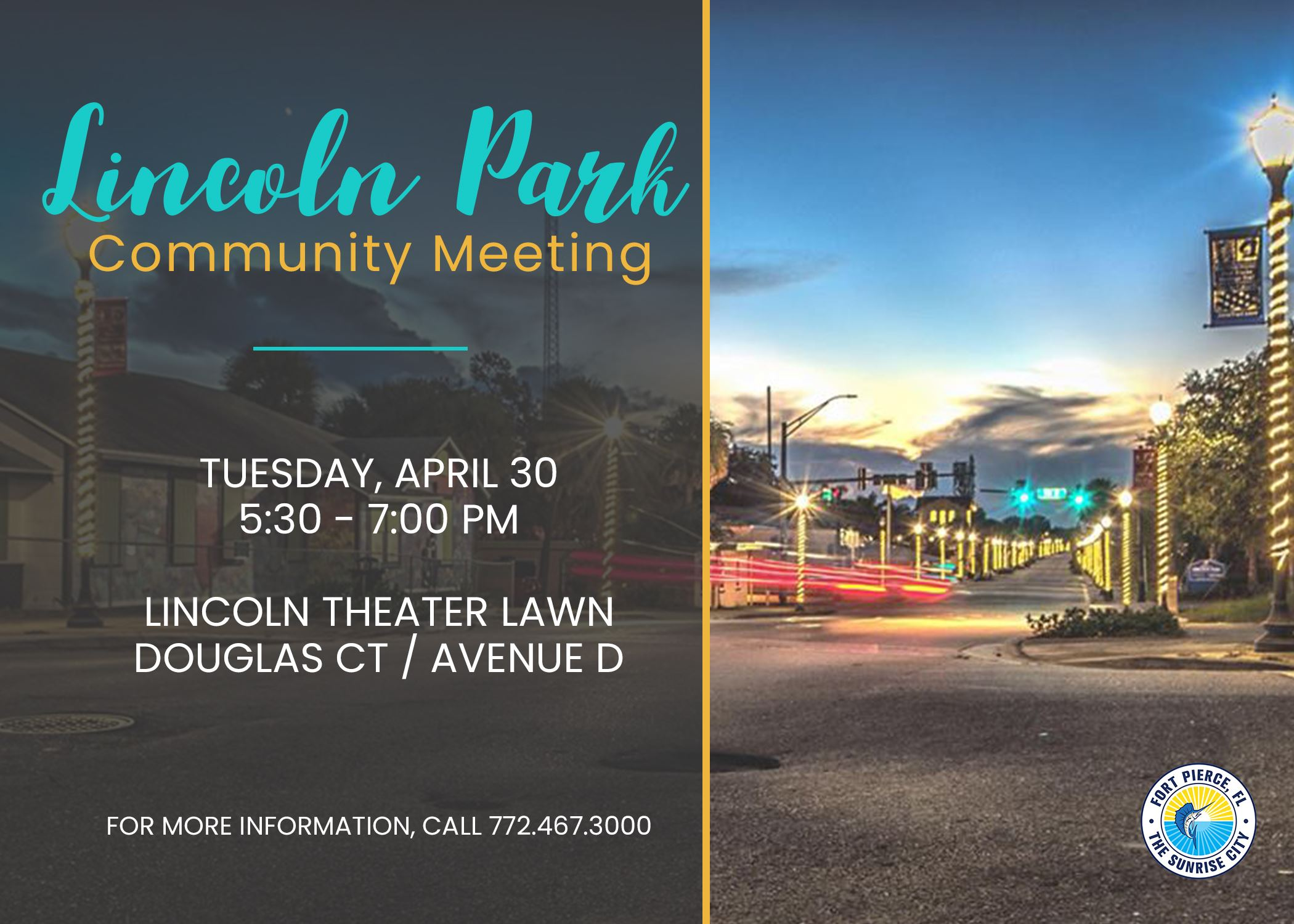 Lincoln Park Community Meeting