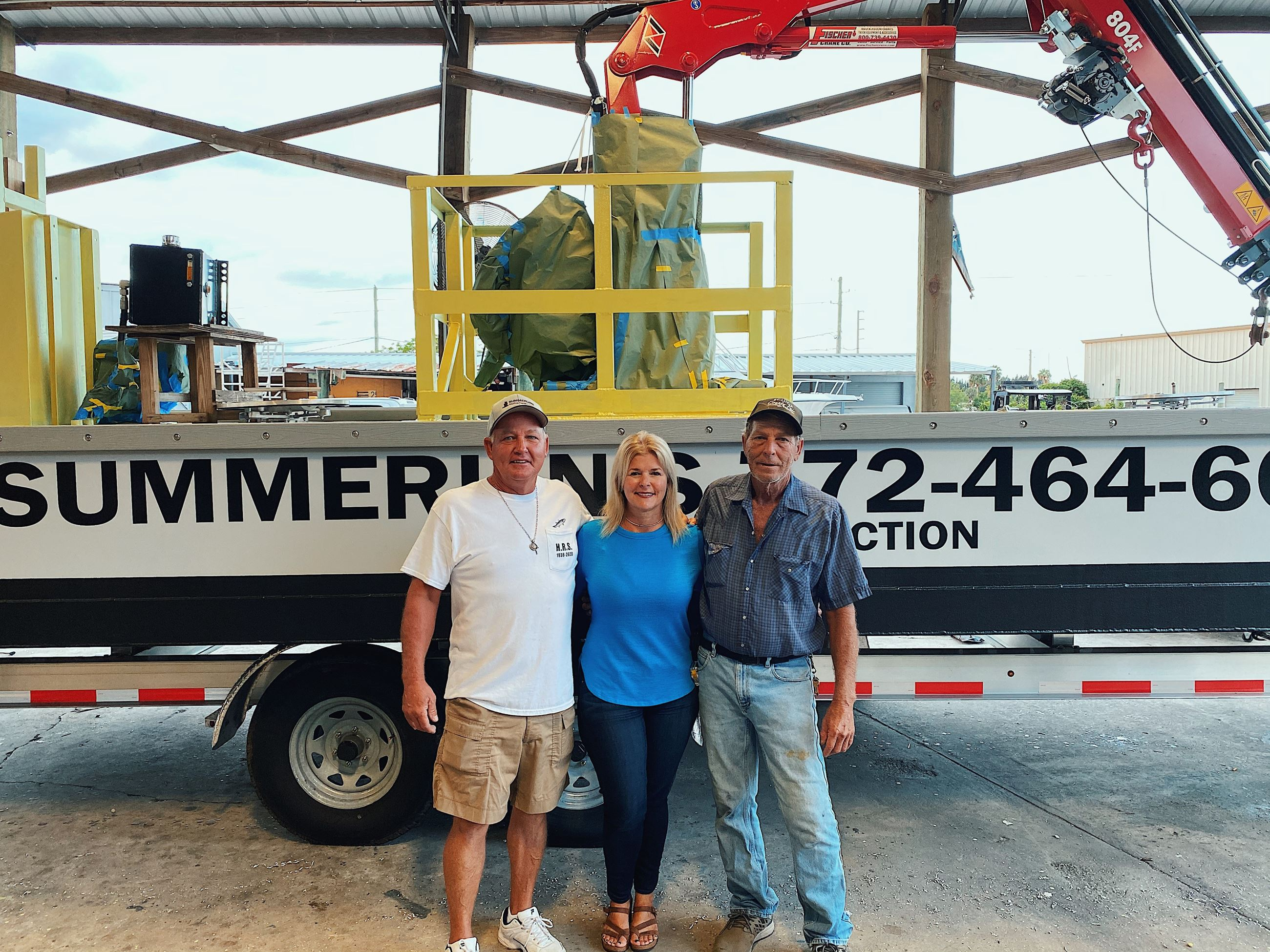 Owners of Summerlins Marine Construction